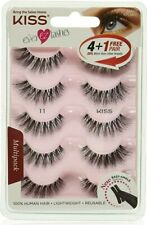 KISS Products Ever EZ Lashes, 5 Pair (Package May Vary)
