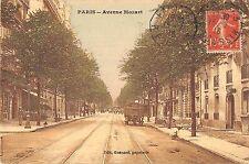 CPA 75 PARIS 16e AVENUE MOZART