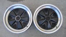 TWO original PORSCHE 16 x 7 Fuchs  wheels 911.361.020.44 GERMAN USED 29/83 33/83