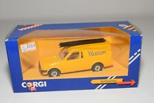 ^ CORGI TOYS 496 FORD ESCORT 55 VAN BRITISH TELECOM MINT BOXED