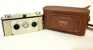 Vintage Universal Stere-All 3D (35 mm) Camera and Case