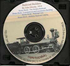 History of Railroad Building  + Bonus Books