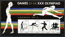 Antigua 2012 Olympiade London Olympics Laufsport Hürdenlauf Karate 5014-5017 MNH