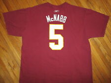 DONOVAN MCNABB WASHINGTON REDSKINS 5 JERSEY T SHIRT Football NFL Tee Reebok XL