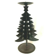 Metal Christmas Trees Star Cut Outs Candle Holder Cokas Diko
