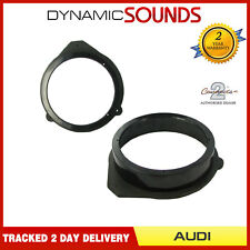 CT25AU05 165mm Front/Rear Door Speaker Adaptor Kit Rings For Audi A3 A4