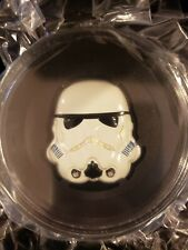 2020 Niue 2oz Silver Stormtrooper Colored Helmet- Limited Edition only 250!!!