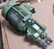 Daikin Piston Pump Model V15a1r 40 With Motor From Mori Seiki Sl 3