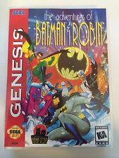 Adventures of Batman and Robin - Sega Genesis - Replacement Case - No Game