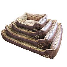 Cat Pet Luxury Dog Bed Washable Comfy Puppy Fur Fleece Mattress Pillow-XXL Soft