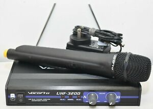VocoPro UHF-3200 UHF Dual Channel Wireless Microphone System