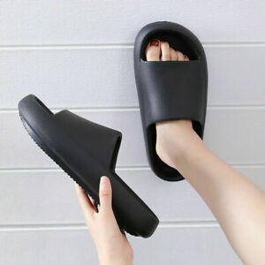 Slides Sandals Ultra-Soft Slippers Extra Soft Cloud Anti-Slip Bathroom  Shoes