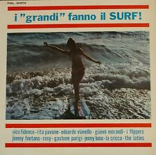 33 LP I GRANDI FANNO IL SURF MORANDI FIDENCO FONTANA PAVONE FLIPPERS VIANELLO