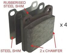 Ferodo FDB704 Rear Axle Premier Car Brake Pad Set Replaces 2701647