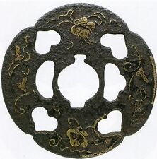 Japanese Samurai Sword  Heianjo Tsuba Converted to Naginata for Battle RARE FIND