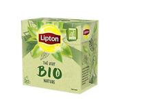 Lipton Bio Green Tea Bio Nature  6 x 20 =120 Pyramid Teabags