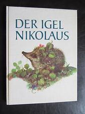 Der Igel Nikolaus-Märchen-Bilderbuch -Artia-DDR Kinderbuch