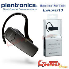 Auricolare Bluetooth Plantronics Explorer 10 Originale per Htc One M8 M9
