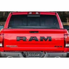 For Ram Tailgate Letters Black set 3 letters For Dodge Ram 1500 years 2015-2016