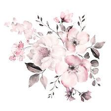 Flor Pegatinas De Pared Pared Arte Pegatinas De Pared Calcomanías PVC Calcomanía decoración floral caliente