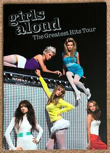 GIRLS ALOUD * THE GREATEST HIT TOUR UK PROGRAMME W/ PIC/POSTCARDS * 2007 * HTF!
