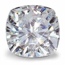 2.00ct Moissanite Cushion Cut Forever Brilliant Loose Stone 7.5 mm