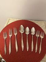 Vintage MONTGOMERY WARD~ MWD14~ Stainless Flatware 8 PC ASSORTED Japan RETIRED