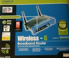 Linksys WRT54G Wireless-G Broadband Router Cisco New open box