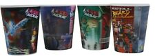 Lot of 4 McDonalds The Lego Movie Holographic Cups