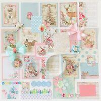 """Christmas Junk Journal Card Supplies, """"Christmas Junk Journal Kit 50+ Pieces"""