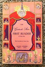 Gertrude Stein First Reader & Three Plays - 1946 First Edition