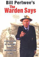 DVD:THE WARDEN SAYS - VOLUME 1 - NEW Region 2 UK