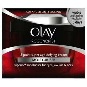 OLAY REGENERIST DAILY 3 POINT AGE-DEFYING CREAM 50ml (old style)