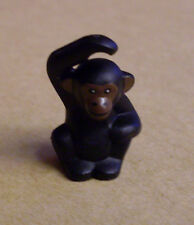 LEGO personaggio scimpanzé-Chimpanzee Animali Accessori seduti NERO-NUOVO