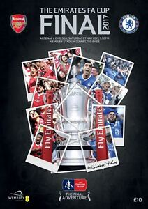 FA CUP FINAL 2017 Chelsea v Arsenal - Official programme