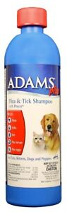 Adams Plus Flea & Tick Shampoo (12 oz)
