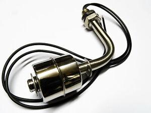 Edelstahl Niveauschalter Flüssigkeit Wasserstand Schwimmerschalter Pegelschalter