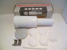 KITCHEN AID PASTA MAKER PLATES & Storage Stomper in Box, Free Shipping