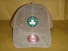 c35c91aa Men's Boston Celtics Mitchell & Ness Two-Tone Suede Front Strapback Cap ...