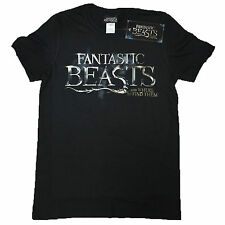 Fantastic Beasts OFFICIAL T-Shirt Where To Find Them Logo Harry Potter