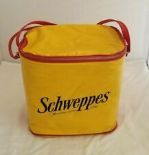 Vintage Schwepps  Soft Side Fiberglass Cooler A Thermo-Keep Product By Nappy