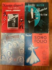 Box of Song Books (18 books) 1935 - 1958 Nice