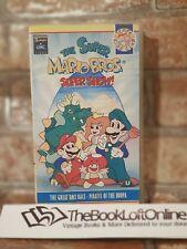 Super Mario Bros Super Show VHS Video Tape Nintendo Animation Children's TBLO