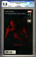PETER PARKER: THE SPECTACULAR SPIDER-MAN -  Hip Hop cover - CGC 9.8  2 Pac 8/17
