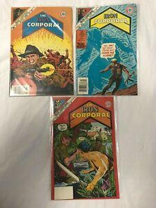 Iron Corporal (Charlton, 1985) #23, 24, 25