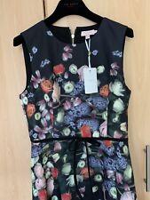 Ted Baker Izobela Kensington Floral Dress Size 4 UK 14 US 10