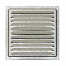 Ventilazione in acciaio zincato 30 x 30 cm, griglia (Acciaio zincato|30 x 30)