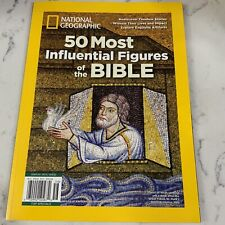 National Geographic 50 Most Influential Figures of The Bible Reissue Special2020