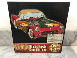 Brand New Sealed Sure-Lox Street Muscle Car Shaped Puzzle 3+ feet long 1000 Pc