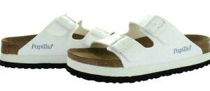 Birkenstock Papillio Arizona PAP Platform Sandals White 43 = Mens 10, Womens  12